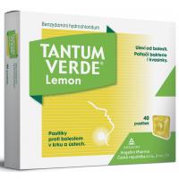 Zobrazit detail - Tantum Verde Lemon orm. pas. 40x3mg