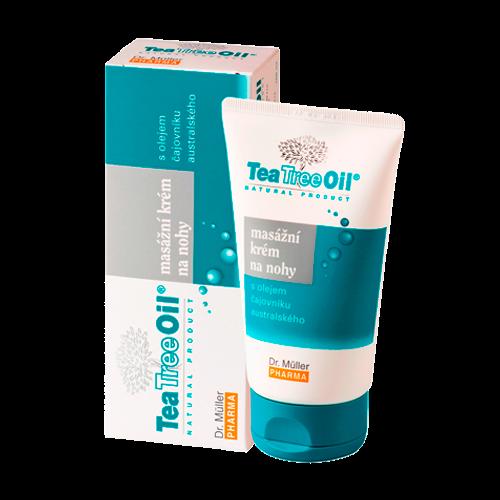 Tea Tree Oil masážní krém na nohy 150ml(Dr.Müller)