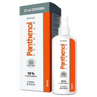 Zobrazit detail - Panthenol 10% Swiss PREMIUM spray 150+25ml Zdarma