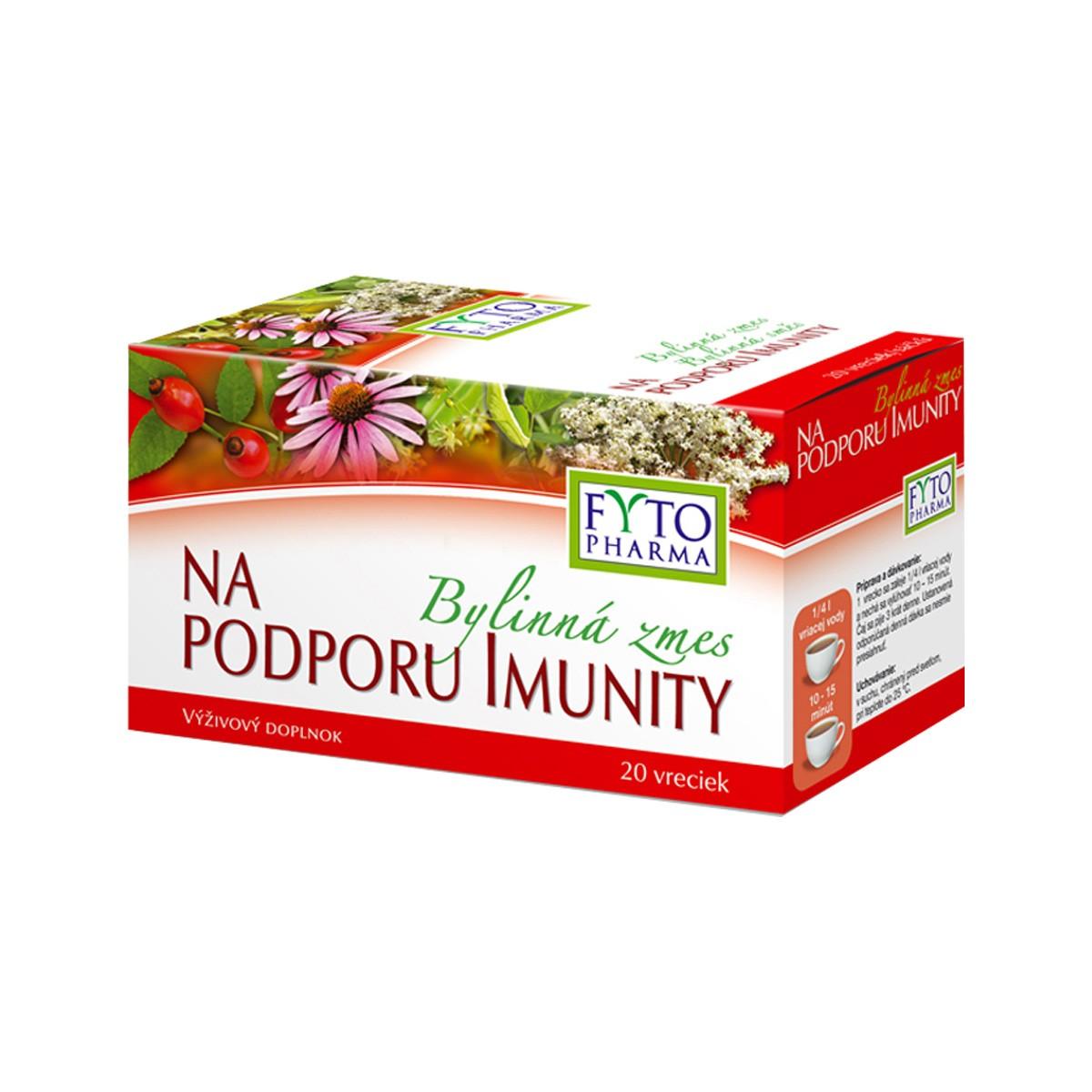 Bylinná smés na podporu imunity 20x1.5g Fytopharma