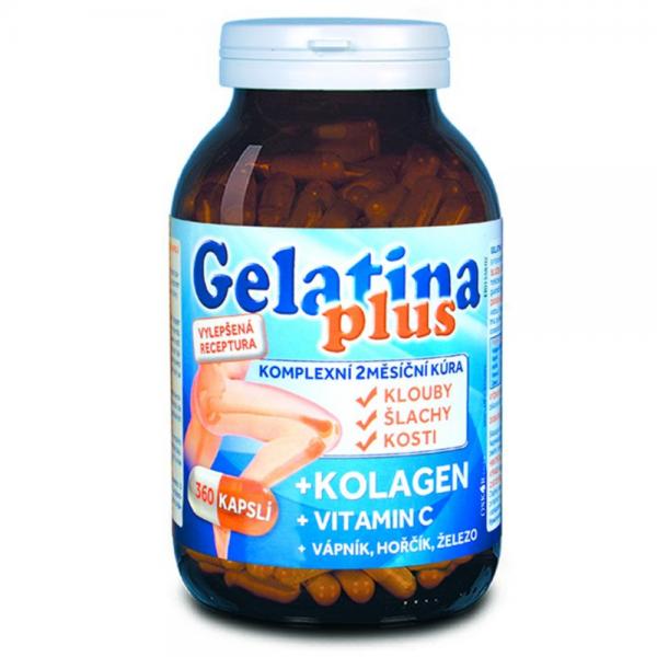 Gelatina Plus 360 kapslí