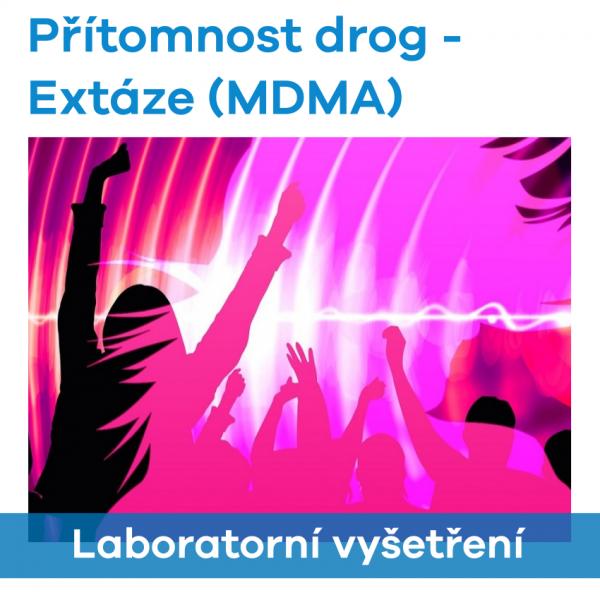 EUC Laboratoře - Přítomnost drog (MDMA-Extáze)