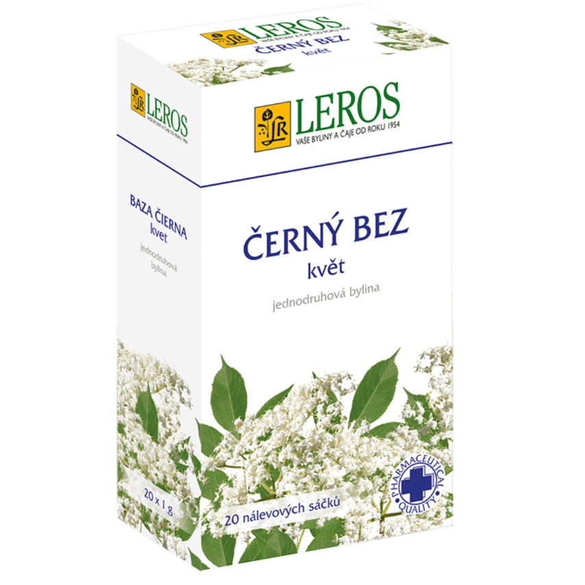 LEROS Černý bez n.s. květ 20x1g