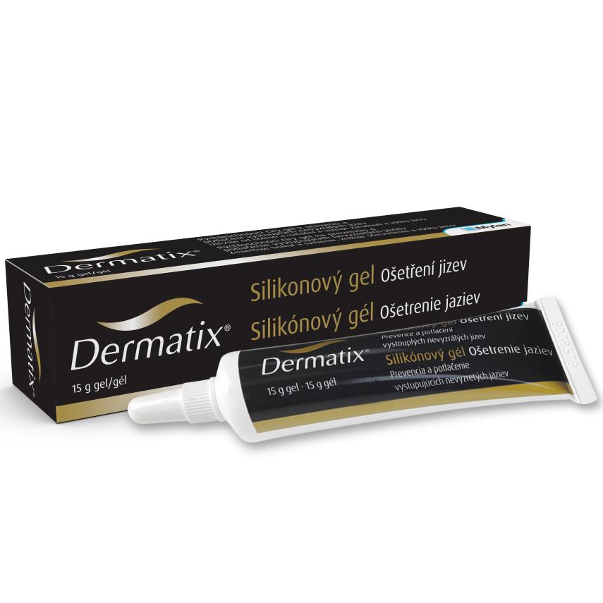 Dermatix Silikonový gel na úpravu jizev 15g