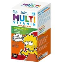 Zobrazit detail - The Simpsons Multivitamin + kolostrum tbl. 45