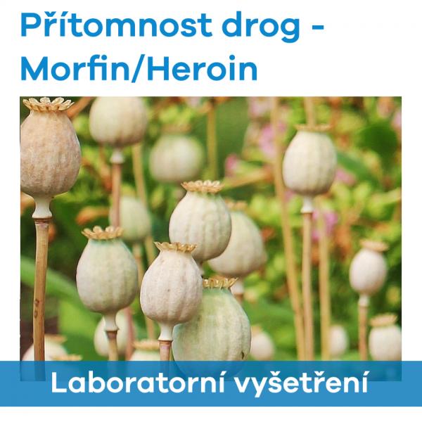 EUC Laboratoře - Přítomnost drog (Morfin/Heroin)