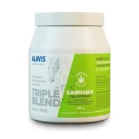 Zobrazit detail - ALAVIS Triple blend Extra silný+ Cannabis CBD 700g