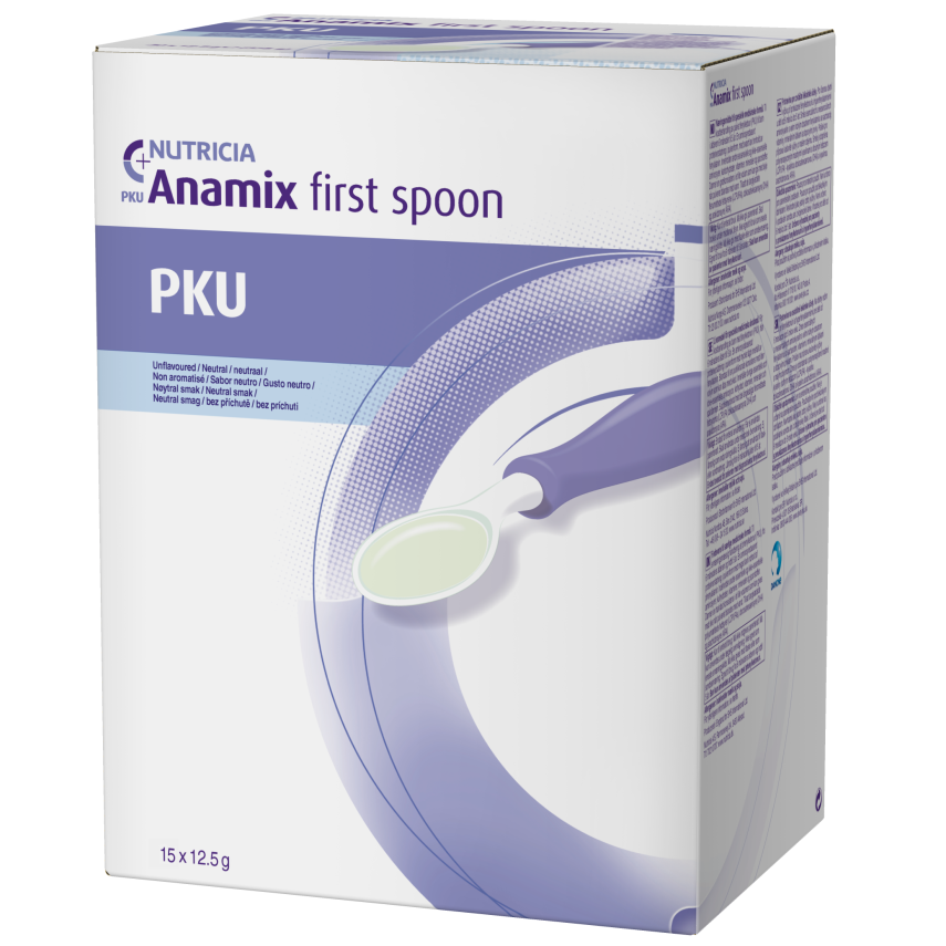 PKU Anamix First Spoon por.plv.sus.15x12.5g NOVÝ