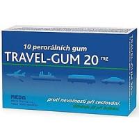 Zobrazit detail - Travel-Gum 20mg por.  gum.  10