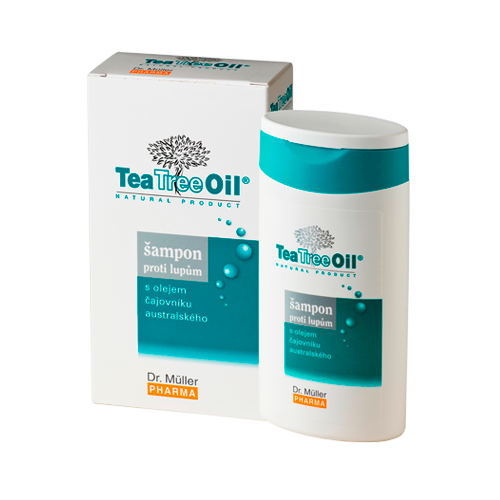 Tea Tree Oil �ampon proti lup�m 200ml (Dr.M�ller)