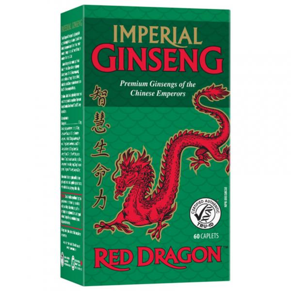 JAMIESON Císařský ženšen Red Dragon 500mg tbl.60