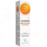 Zobrazit detail - Panthenol Omega Chladivá pěna ve spreji 10% 150ml