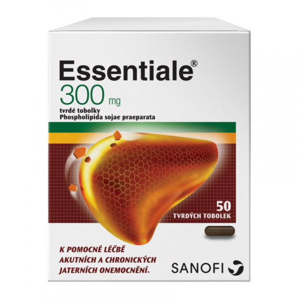 Essentiale 300mg 50 tvrdých tobolek