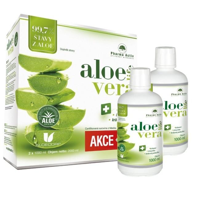 AloeLive ���va z aloe 99.7% 1000ml 1+1zdarma