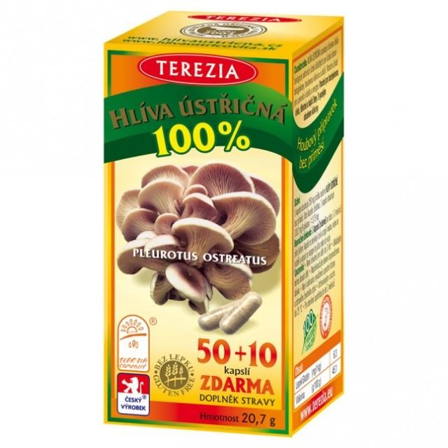 TEREZIA Hlíva ústřičná cps.50+10