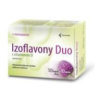 Zobrazit detail - Izoflavony Duo s vitamínem D cps. 50+10 navíc