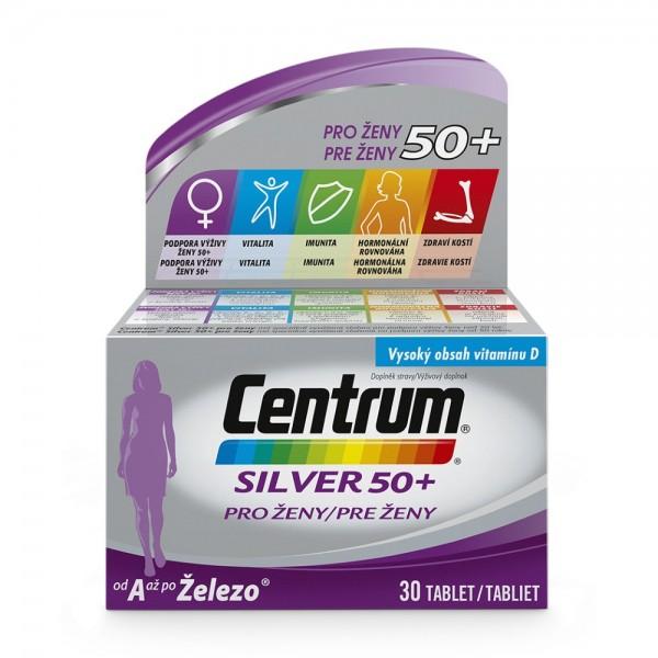 Multivitamin Centrum Silver 50+ pro ženy