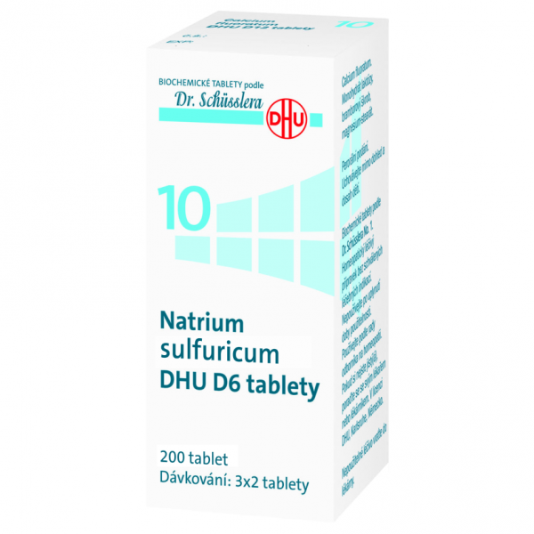 Natrium sulfuricum DHU D6 200 tablet