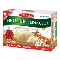 Zobrazit detail - TEREZIA Hericium erinaceus s rakyt. olejem cps. 60