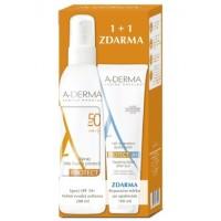 Zobrazit detail - A-DERMA Protect sprej SPF50+ 200ml+Rep. mléko 100ml