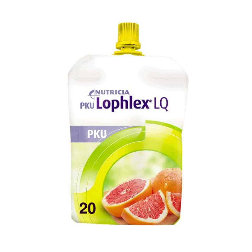 PKU Lophlex LQ 20 Šťavnatý citrus por.sol.30x125ml