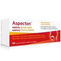 Zobrazit detail - Aspecton tablety na kašel černý rybíz 60ks