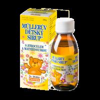 Zobrazit detail - Müllerův dětský sirup s jitrocelem a mateříd. 130g