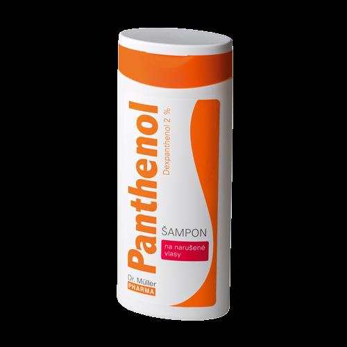 Panthenol šampon na narušené vlasy 250ml(Dr.Müller