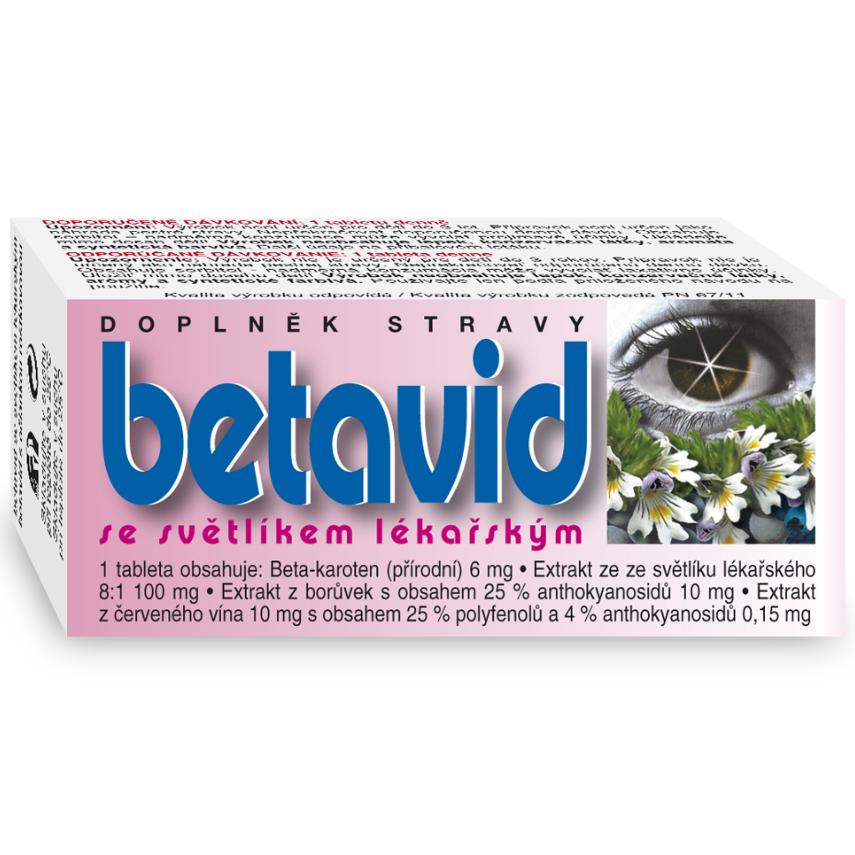 BETAVID se světlíkem lékařským tbl.60