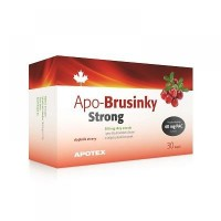 Zobrazit detail - APO-Brusinky Strong 500mg cps. 30