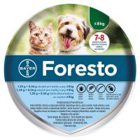 Zobrazit detail - Foresto 1. 25g+0. 56g obojek pro kočky a psy do 8kg