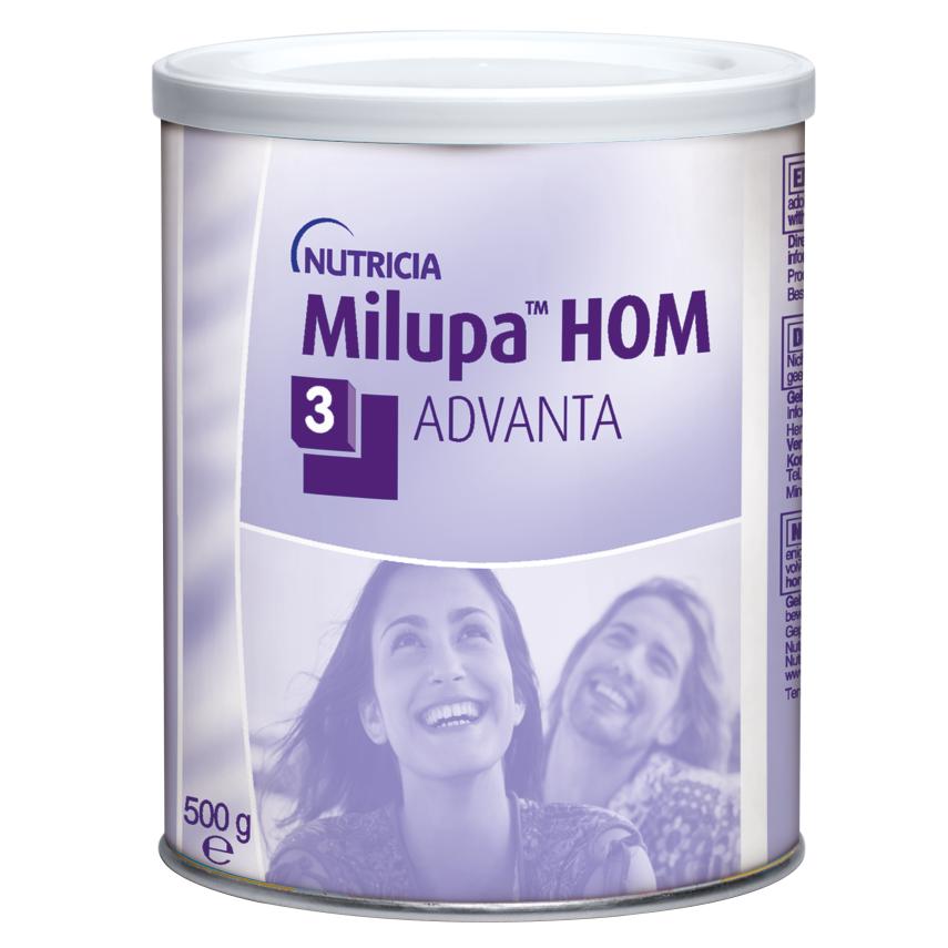 Milupa HOM 3 Advanta por.plv. 1x500g nový