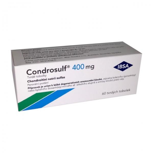 Condrosulf 400 mg cps.dur. 60
