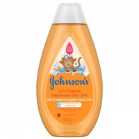 Zobrazit detail - Johnsons Baby koupel 2v1 bubble a gel 500ml