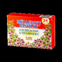 Zobrazit detail - Müllerovy pastilky s echinaceou 24ks