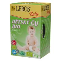 Zobrazit detail - LEROS BABY BIO Dětský čaj bylinný n. s. 20x2g