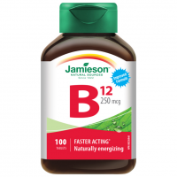 Zobrazit detail - JAMIESON Vitamín B12 kyanokobalamín 250mcg tbl. 100