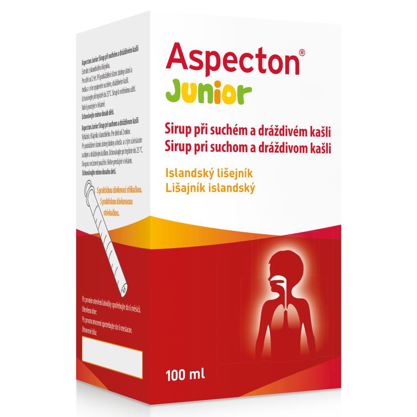 Aspecton Junior Sirup při such.a drážd.kašli 100ml