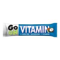 Zobrazit detail - GO ON Vitaminová tyčinka kokos L-carnitin 50g