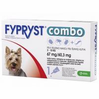Zobrazit detail - FYPRYST combo 1x0. 67ml spot-on pro psy 2-10kg