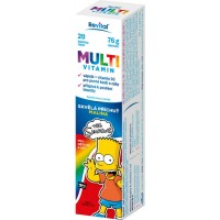 Zobrazit detail - The Simpsons Multivitamin 20 eff.  tablet