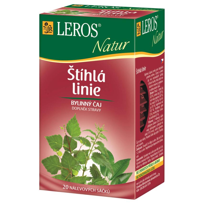 LEROS NATUR Štíhlá linie Slim Line TEA n.s.20x1.5g
