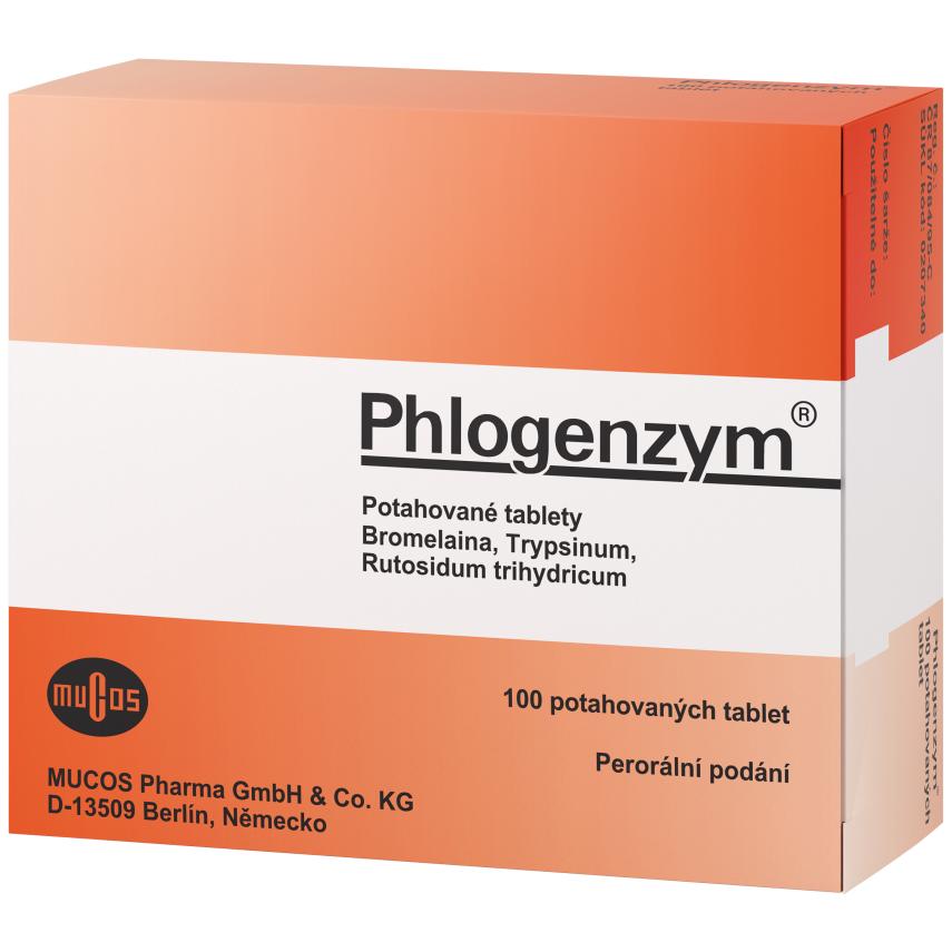 Phlogenzym 100 tbl.flm. Triplex