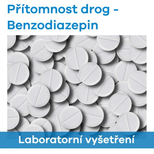 EUC Laboratoře - Přítomnost drog (Benzodiazepin)