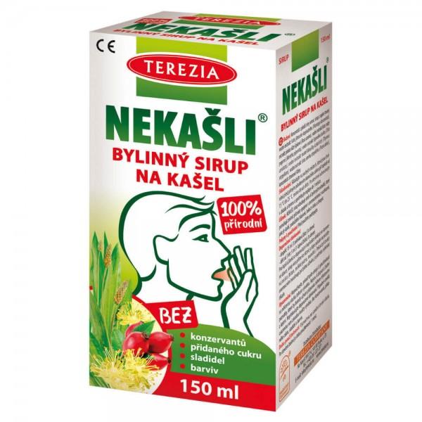 TEREZIA NEKAŠLI 100% přírodní bylinný sirup 150ml