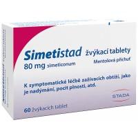 Zobrazit detail - Simetistad 80mg žvýkací tablety tbl. 60