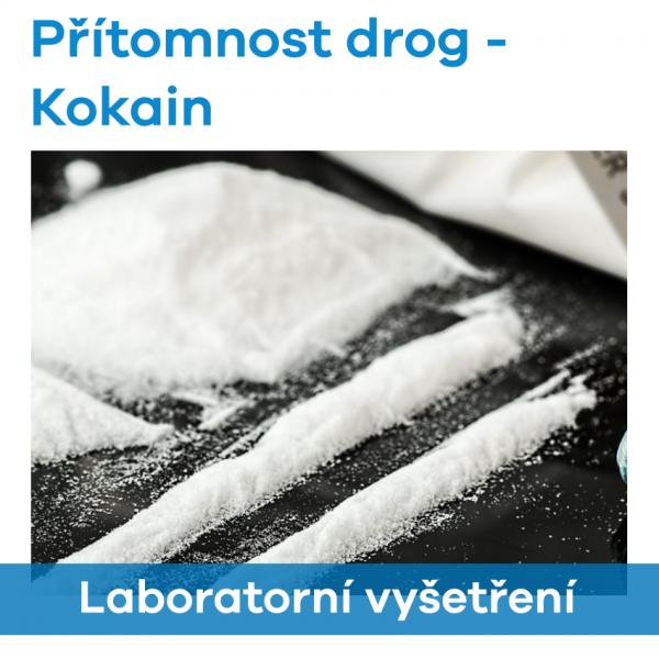 EUC Laboratoře - Přítomnost drog (Kokain)
