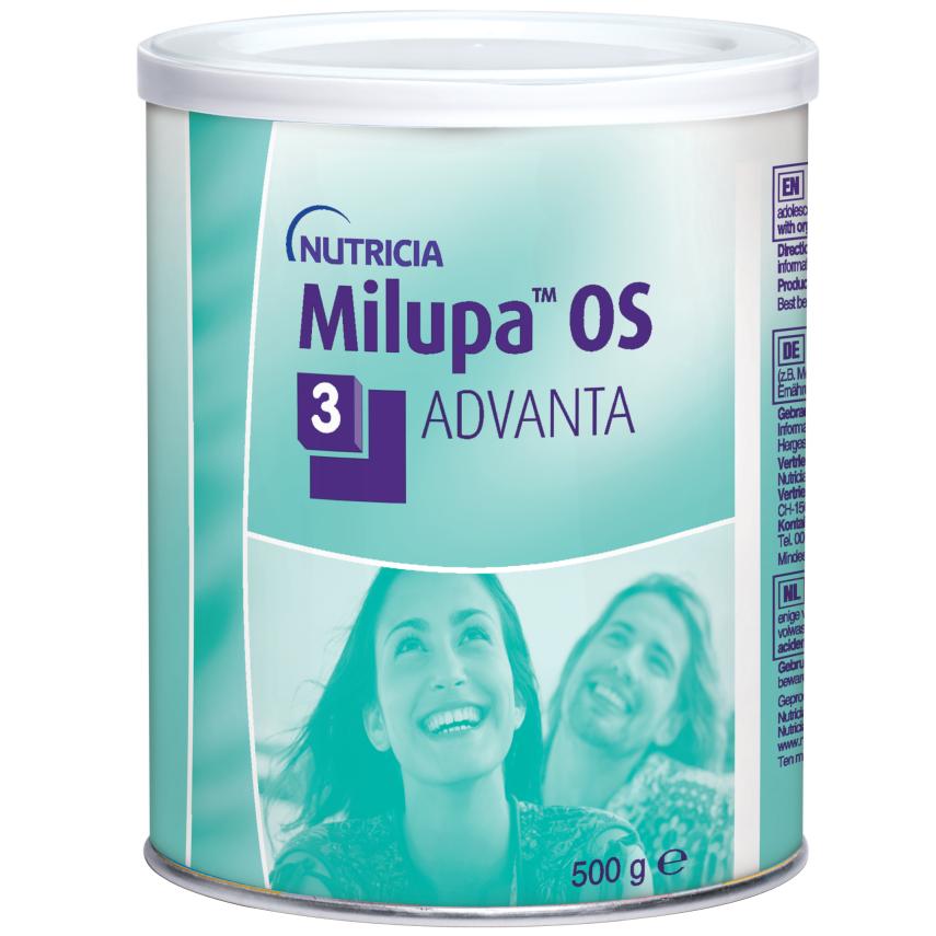 Milupa OS 3 Advanta por.plv. 1x500g nový