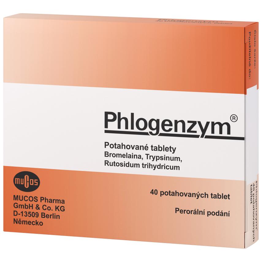 Phlogenzym Magensaftresistente tbl.obd.40