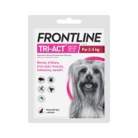 Zobrazit detail - Frontline Tri-Act psi 2-5kg spot-on 1x1 pipeta